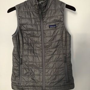 Patagonia vest gray size small